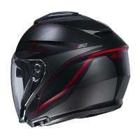 Hjc I30 Slight Open Face Helmets Red