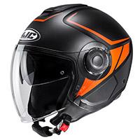 Hjc I40 Camet Helmet Black Orange