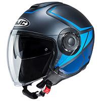 Hjc I40 Camet Helmet Titanium Blue