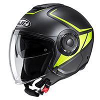 Hjc I40 Camet Helmet Black Yellow
