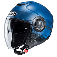 Hjc I40 Unova Helmet Matt Blue