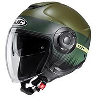 Hjc I40 Unova Helmet Green