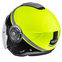 Hjc I40 Wirox Helmet Black Yellow