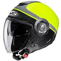 Casco HJC I40 Wirox negro amarillo