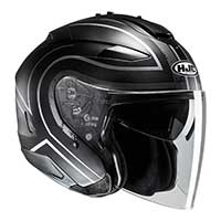 Hjc Is-33 2 Apus Mc5sf Helmet Gray Black