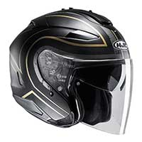 Hjc Is-33 2 Apus Mc9sf Helmet Gold Black