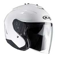 Hjc Is-33 2 Metal Helmet White