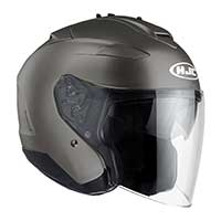 Hjc Is-33 2 Semi Flat Helmet Titanium