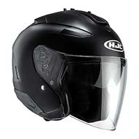 Hjc Is-33 2 Semi Flat Helmet Black