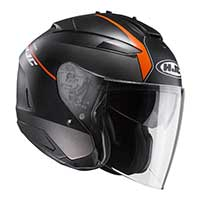 Hjc Is-33 2 Niro Mc7sf Helmet Orange Black