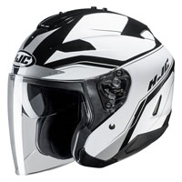Open Face Helmet Hjc Is-33 Ii Korba White