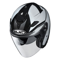 Open Face Helmet Hjc Is-33 Ii Korba Grey
