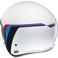 Hjc V30 Osor Helmet White Blue Red