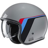 XS Blanco Casco de moto HJC V30 OSOR MC10