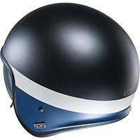 Hjc V30 Perot Helmet Black Blue White