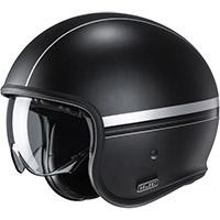 Hjc V30 Equinox Helmet Black Silver