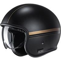 Hjc V30 Equinox Helmet Black Gold
