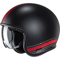 Hjc V30 Senti Helmet Black Red
