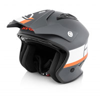 Acerbis Jet Aria Grey Orange