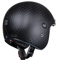 Just-1 J Style Carbon Helmet Black