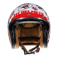 Mt Helmets Le Mans 2 Sv Anarchy A0 White
