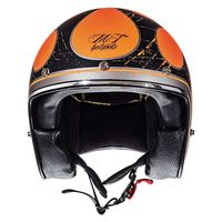 Mt Helmets Le Mans 2 Sv Flaming A0 Orange