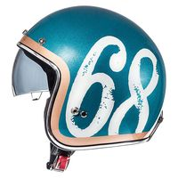 Mt Helmets Le Mans 2 Sv Hipster A0 Green