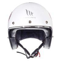 Mt Helmets Le Mans 2 Sv Love A0 Blanc Rose