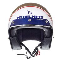 Mt Helmets Le Mans 2 Sv Numberplate A0 Gold