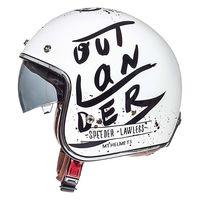 Mt Helmets Le Mans 2 Sv Outlander A1 Bianco