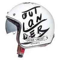 Mt Helmets Le Mans 2 Sv Outlander A1 Blanc