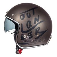 Mt Helmets Le Mans 2 Sv Outlander A0 Brown