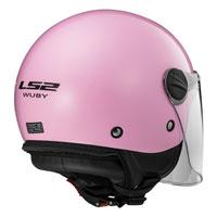 Ls2 Wuby Of575j Solid Rosa Bimbo