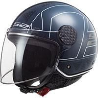Casco LS2 Sphere Lux Of558 Linus cobalt