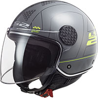 Ls2 Sphere Lux Of558 Linus Helmet Nardo Grey