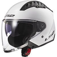 Casco Ls2 Of600 Copter Solid Bianco