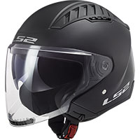 Casco Ls2 Of600 Copter Solid Nero Opaco
