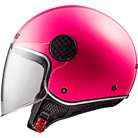Ls2 Sphere Lux Of558 Solid Fluo Pink