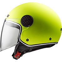 Ls2 Sphere Lux Of558 Solid Giallo Fluo Opaco