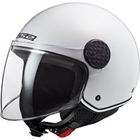Ls2 Sphere Lux Of558 Solid Bianco