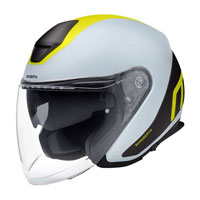 Casco Schuberth M1 Pro Triple Giallo