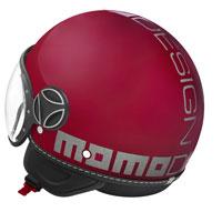 Casco Jet Momo Design Fgtr Evo Magenta Lucido