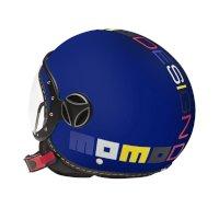 Momo Design Fgtr Baby Jet Helmet Blue Kinder