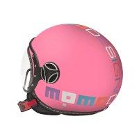 Momo Design Fgtr Baby Jet Helmet Pink Kinder