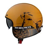 マウント ヘルメット ル マン 2 Sv カフェ レーサー B9 ゴールド