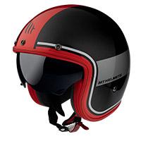 Casco Mt Helmets Le Mans 2 Sv Tant A5 rojo opaco