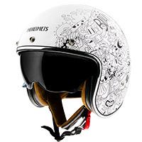 Casco Mt Helmets Le Mans 2 Sv Extreme A0 blanco
