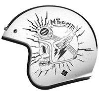 Casque Mt Helmets Le Mans 2 Sv Diler B0 Blanc