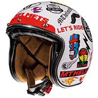 Mt Helmets Le Mans 2 Sv Anarchy A0 White