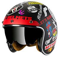 Mt Helmets Le Mans 2 Sv Anarchy A1 Matt Black